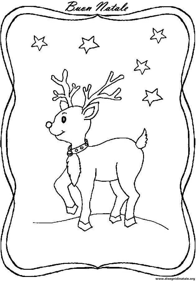 Disegni Di Natale Stampa E Colora.Disegni Di Natale Disegni Di Natale Da Colorare